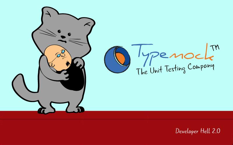 TypemockComic, SergeTheCat, C++, CAT, programming skills