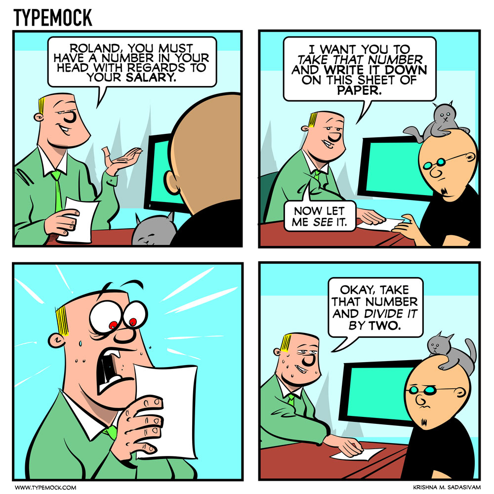 Typemock Comic, Devhumor